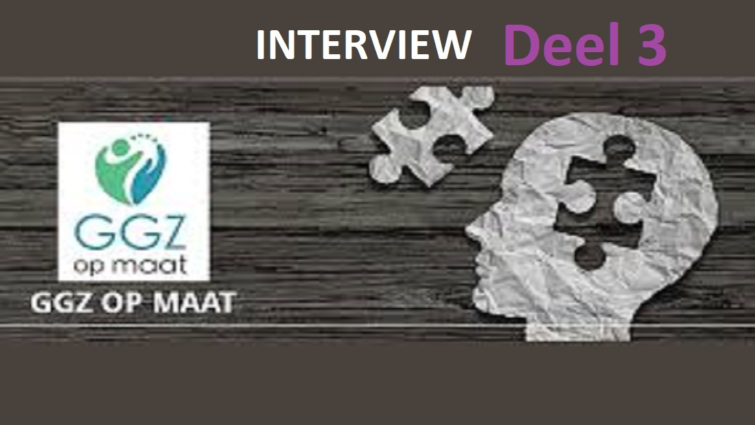 Interview 3 GGZopmaat